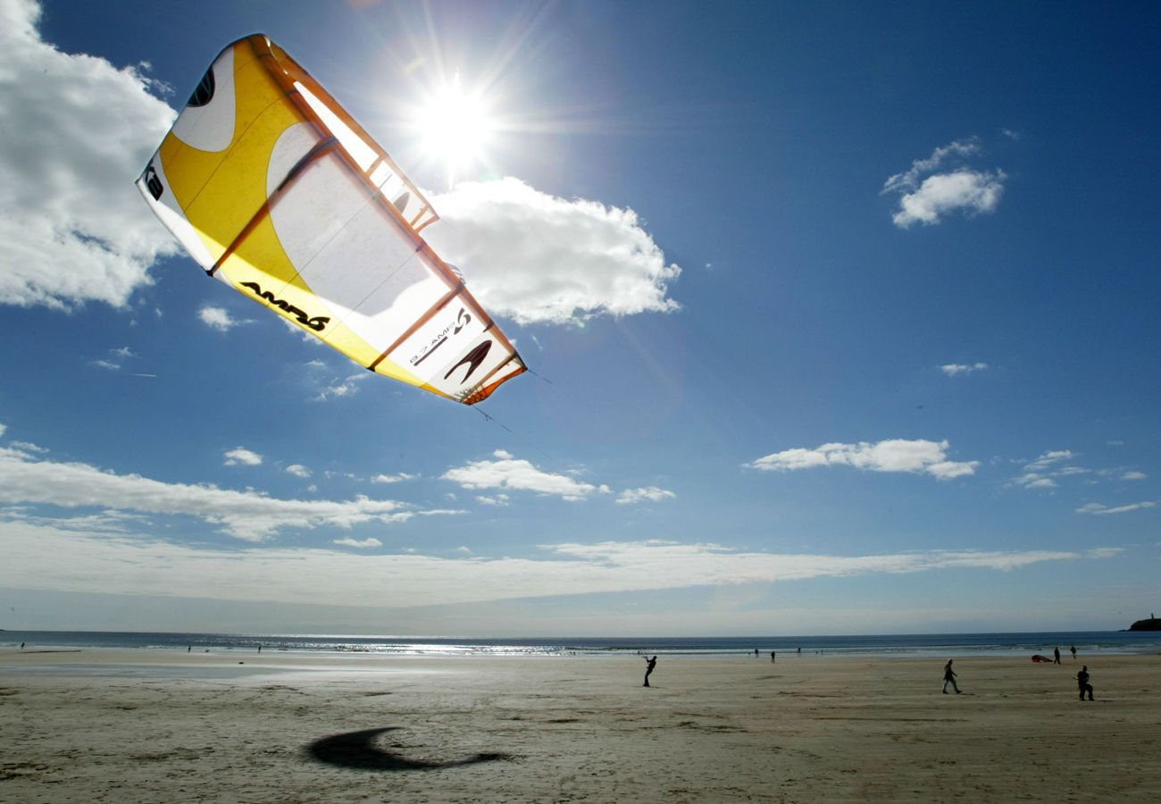 Tramore Sandy Beach, County Waterford, Ireland