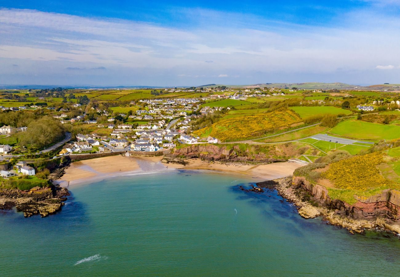 Pretty Town of Dunmore East, County Waterford, Irelandv
