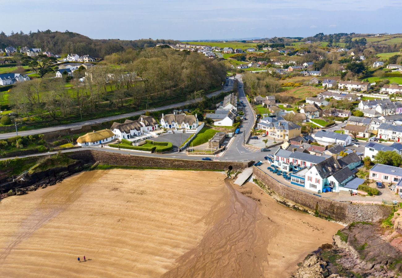 Pretty Town of Dunmore East, County Waterford, Ireland