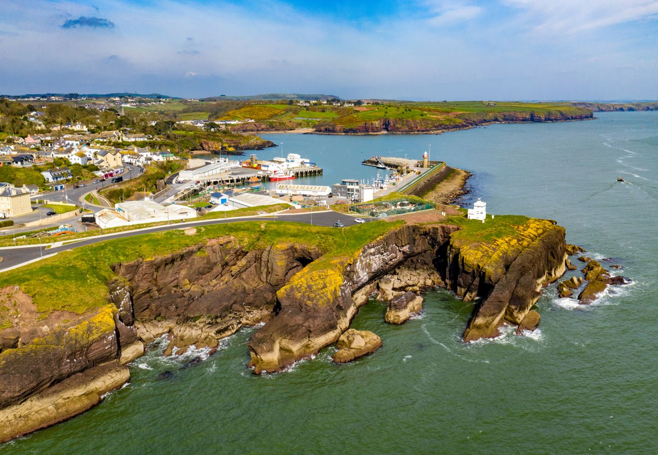 Rugged Landscape of Dunmore East, County Waterford