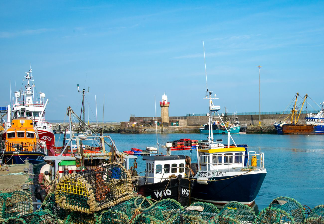 Dunmore East Harbour, County Waterford, Ireland