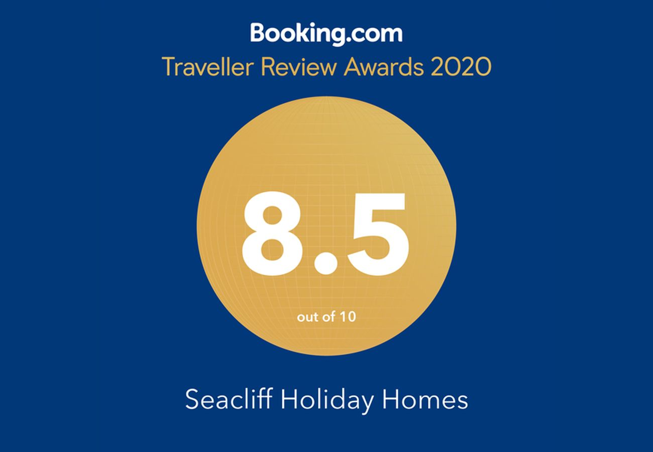 Booking.com Travel Award 2020 Seacliff Holiday Homes Dunmore East Killorglin Self Catering Waterford