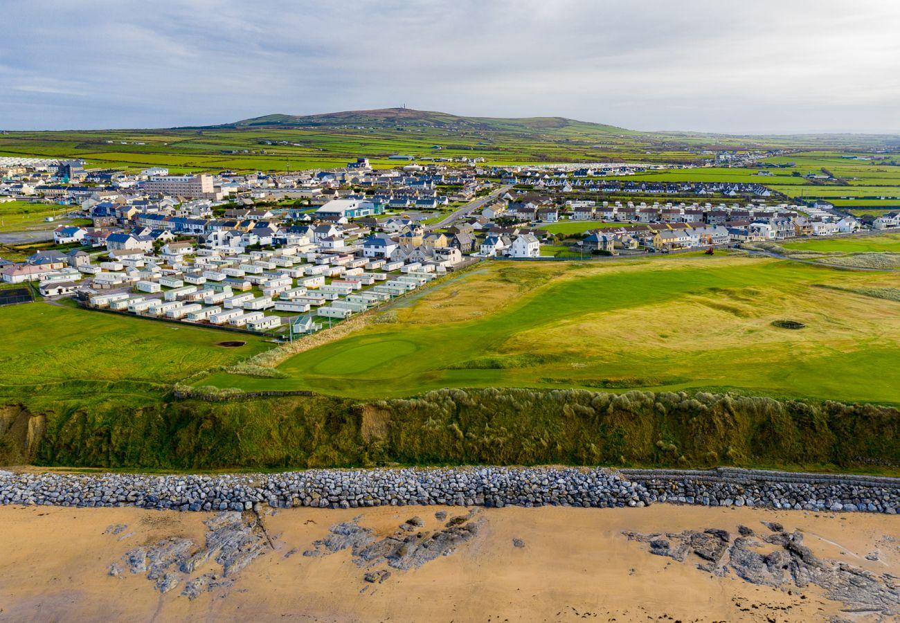 The Seaside Town of Ballybunion, County Kerry, Ireland