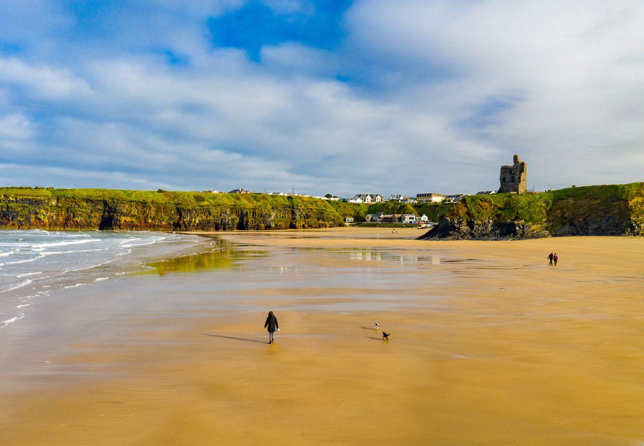 Blue Flag Beach, Ballybunion, County Kerry, Ireland