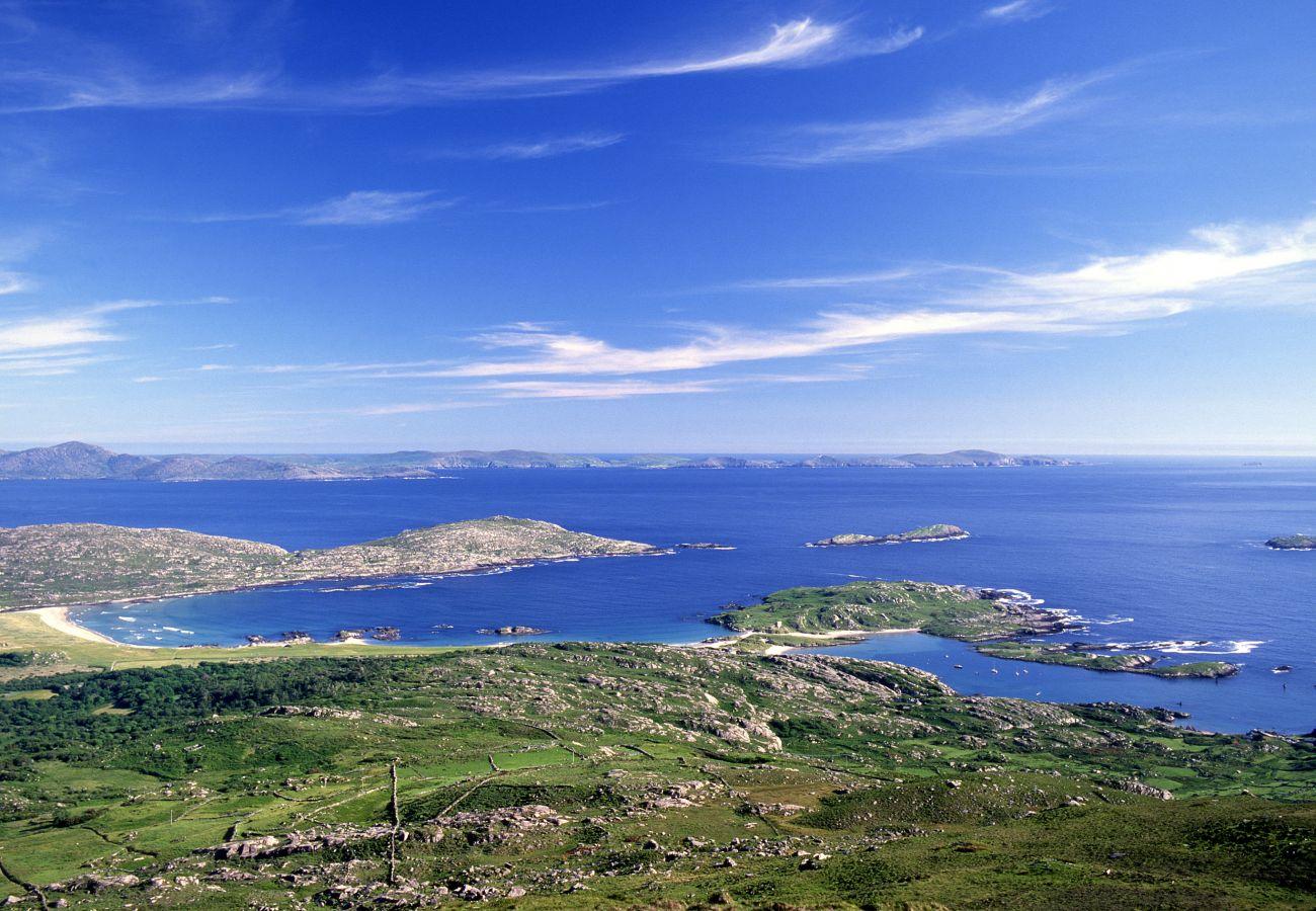 Scenic Derrynane on Ireland's Wild Atlantic Way in County Kerry Ireland