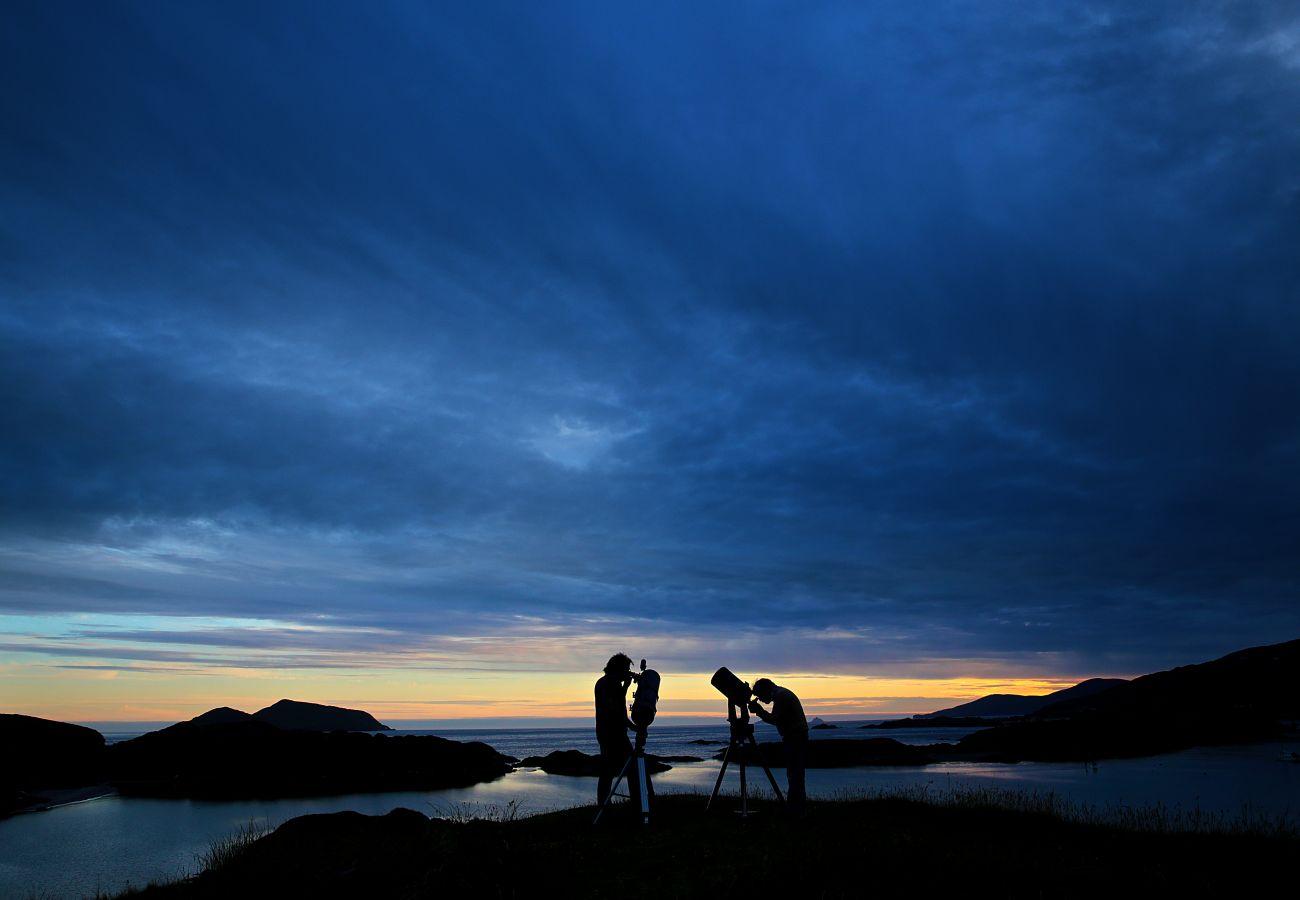 Ballinskelligs Dark Skies, Kerry International Dark Sky Reserve, Derrynane, County Kerry, Ireland
