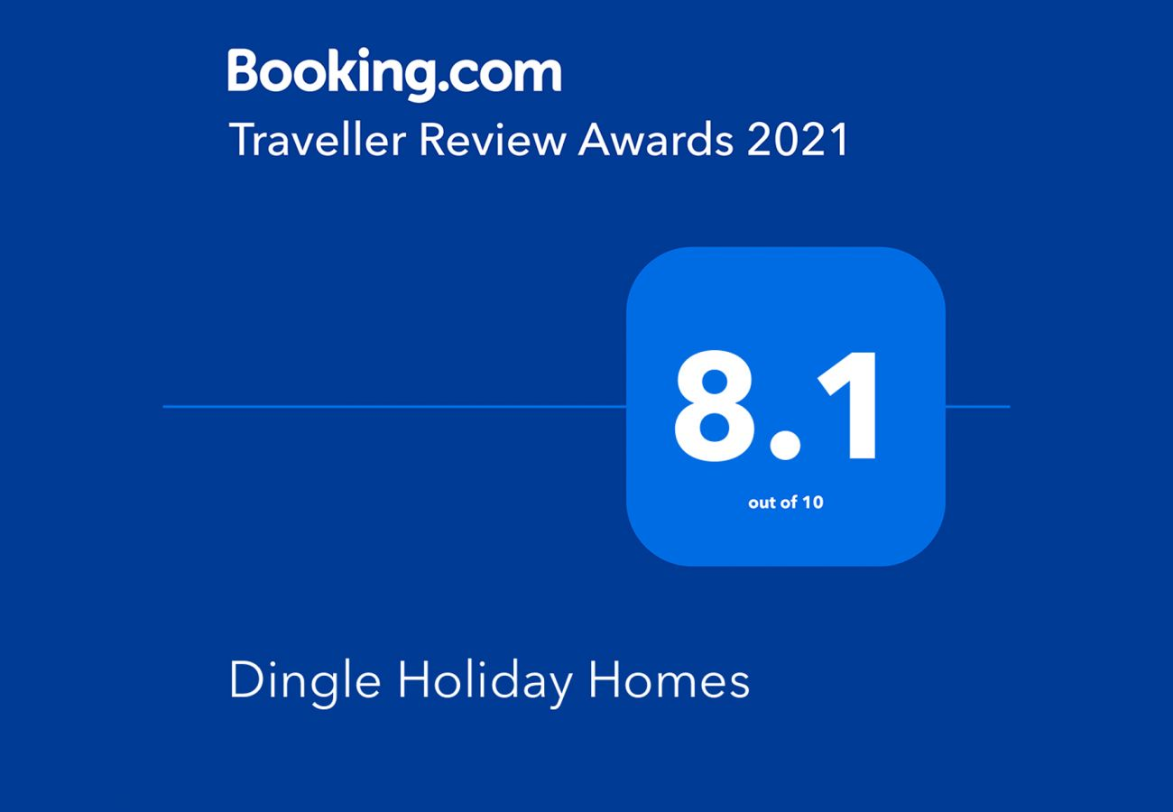 Booking.com Travel Award 2021 | Dingle Harbour Cottages Travel Award | Trident Holiday Homes