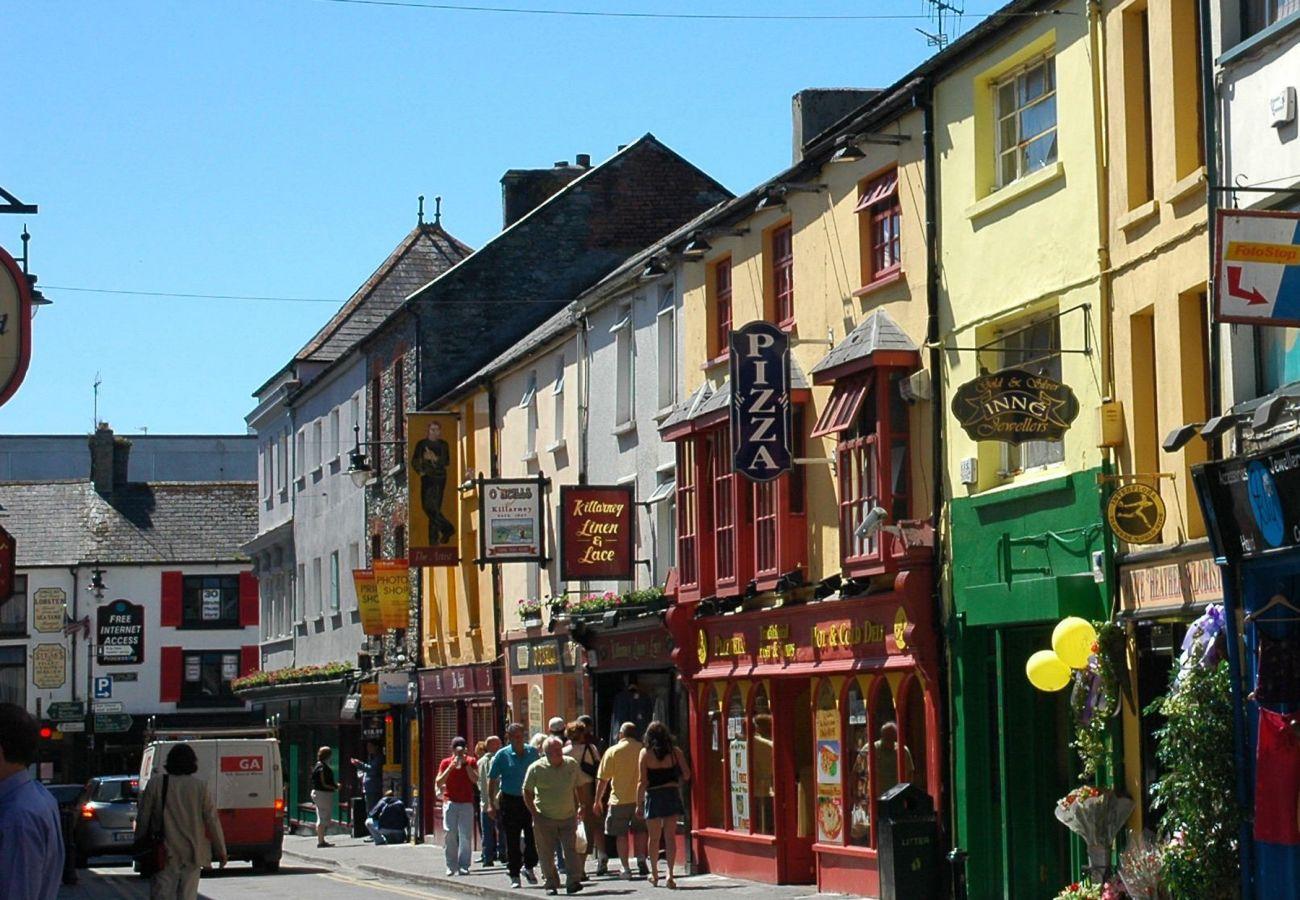 Colourful Streets of Killarney, County Kerry, Ireland © J O'Grady