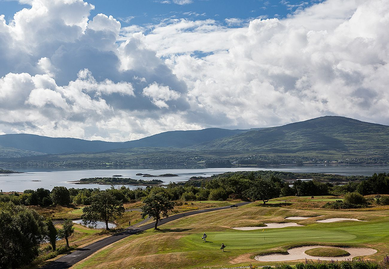 Ring of Kerry Golf Club - 17th Green and beyond