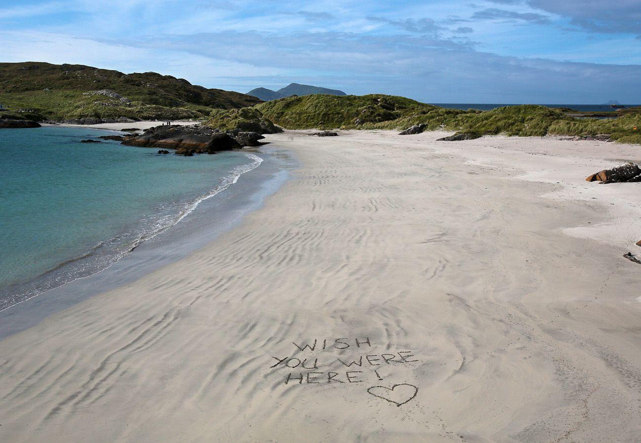 Derrynane, Blue Flag Beach, Kerry, Ireland