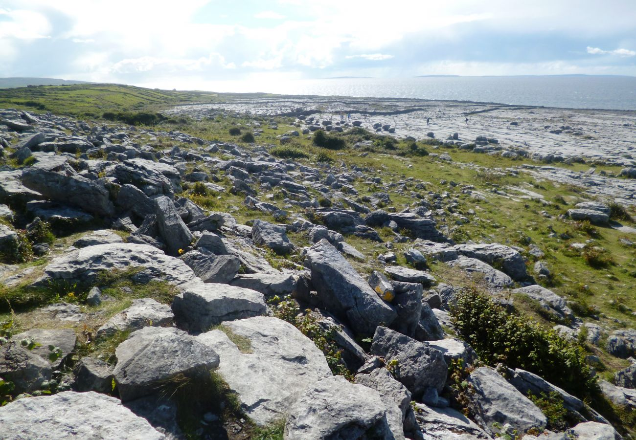 Flaggy Shore Burren Ballyvaughan Clare Ireland