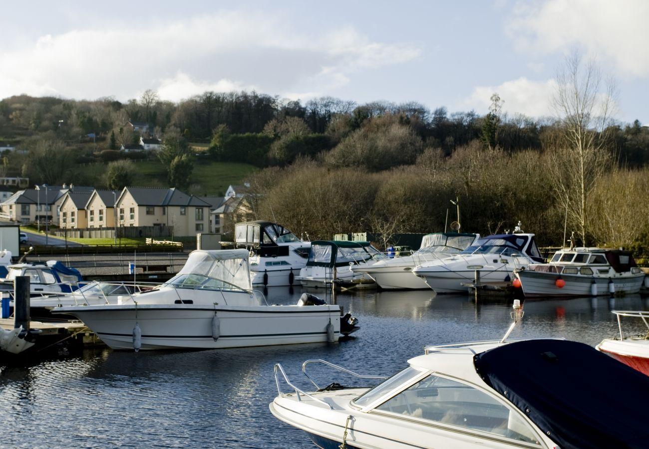 Boating Lake at Lakeside Holiday Homes, Killaloe, County Clare