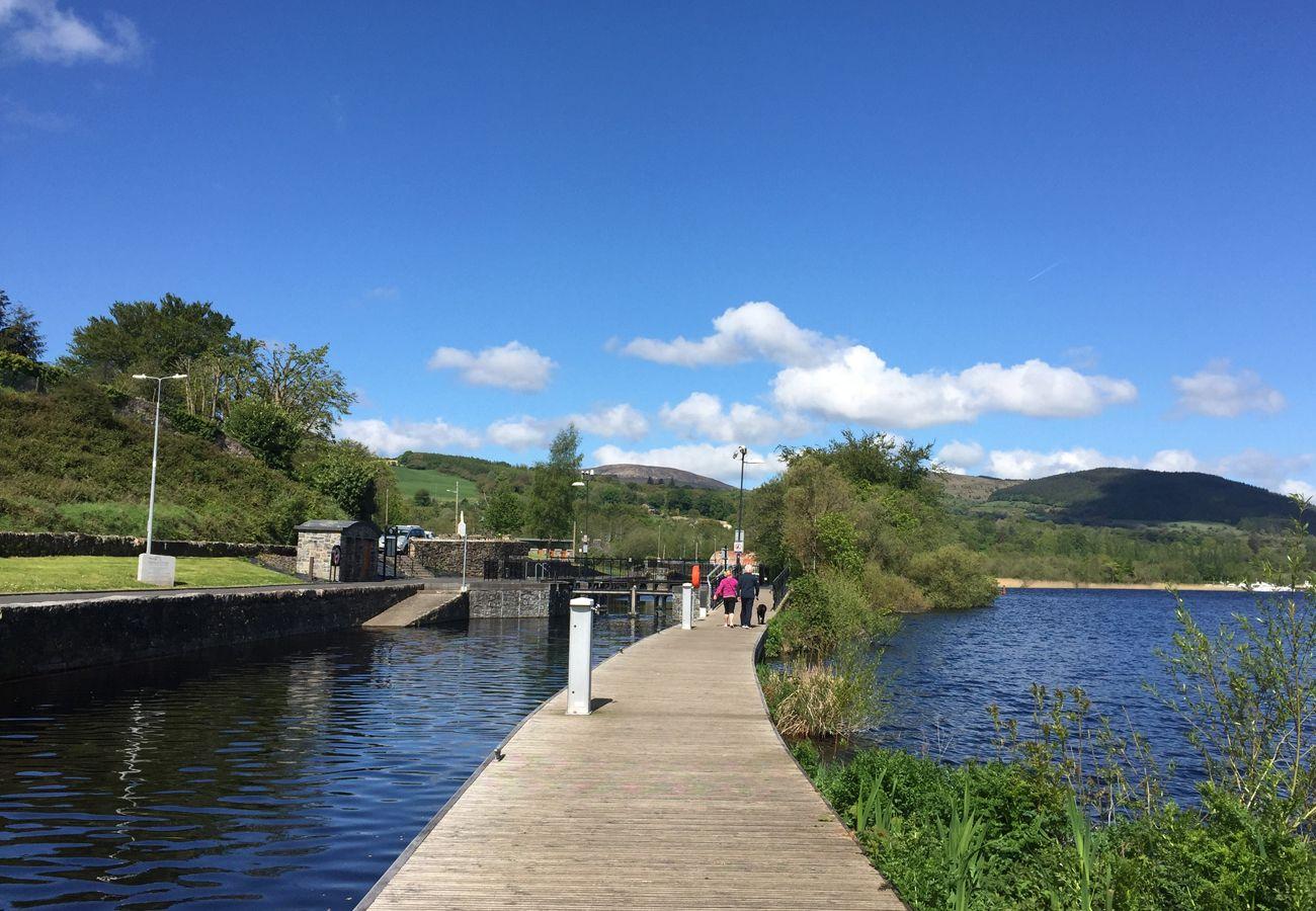 Board Walk by the Lake in Killaloe, County Clare