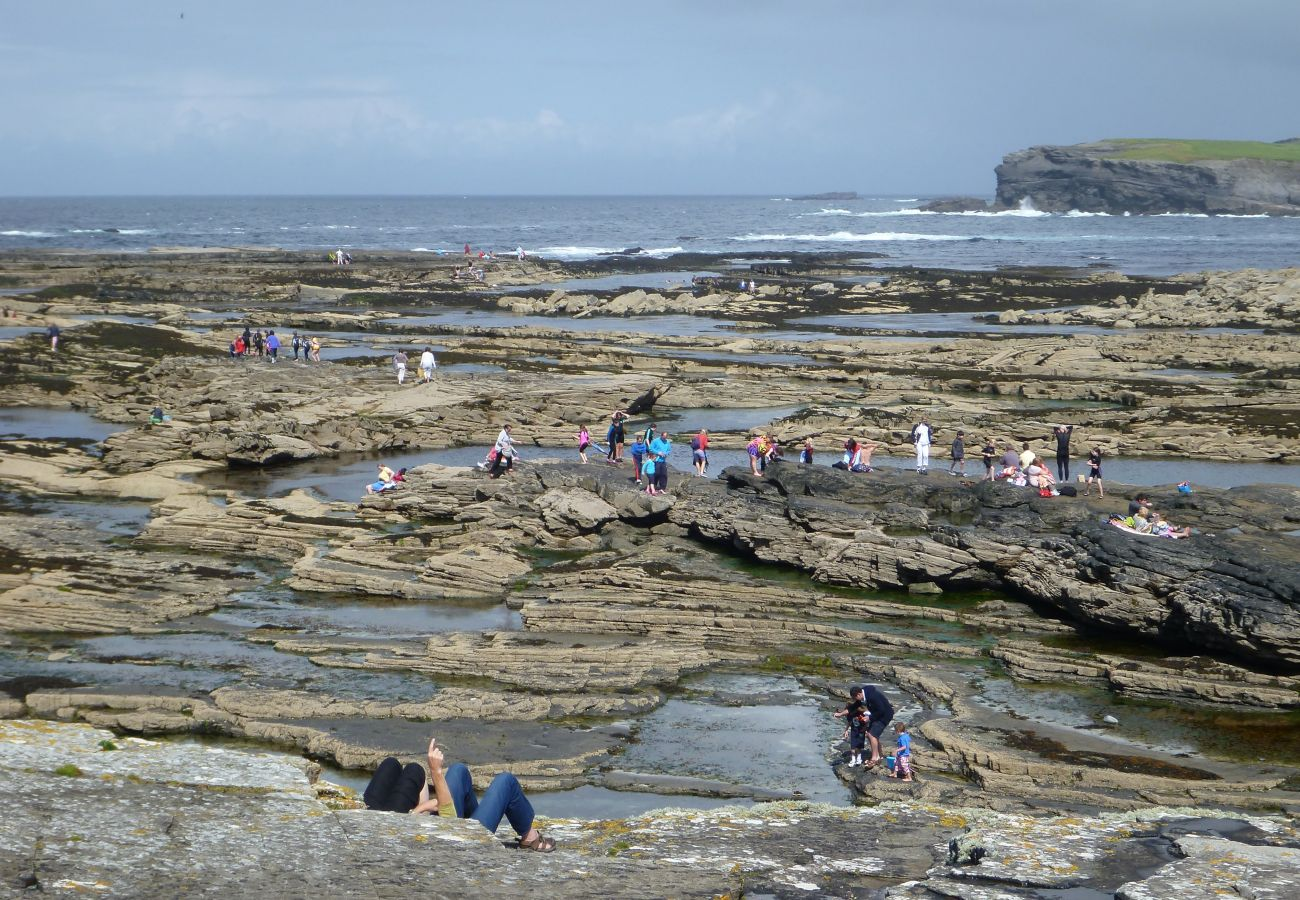 Kilkee Pollack Holes Swimming in County Clare, Ireland