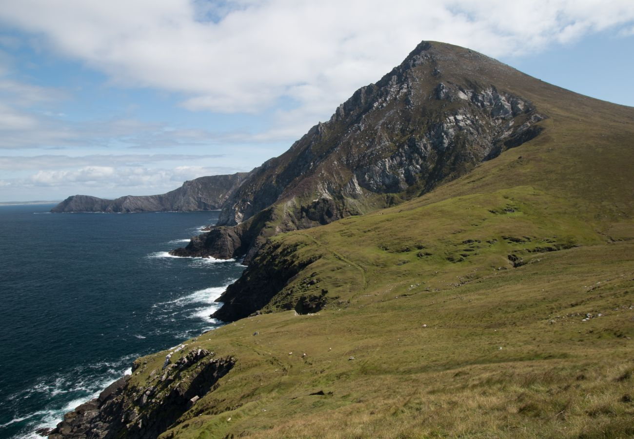Croaghaun and Saddle Head, Achill Island, County Mayo