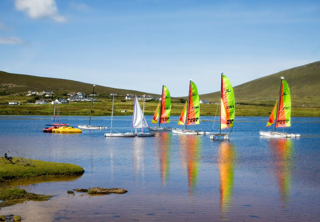 Boats at Achill Island, County Mayo