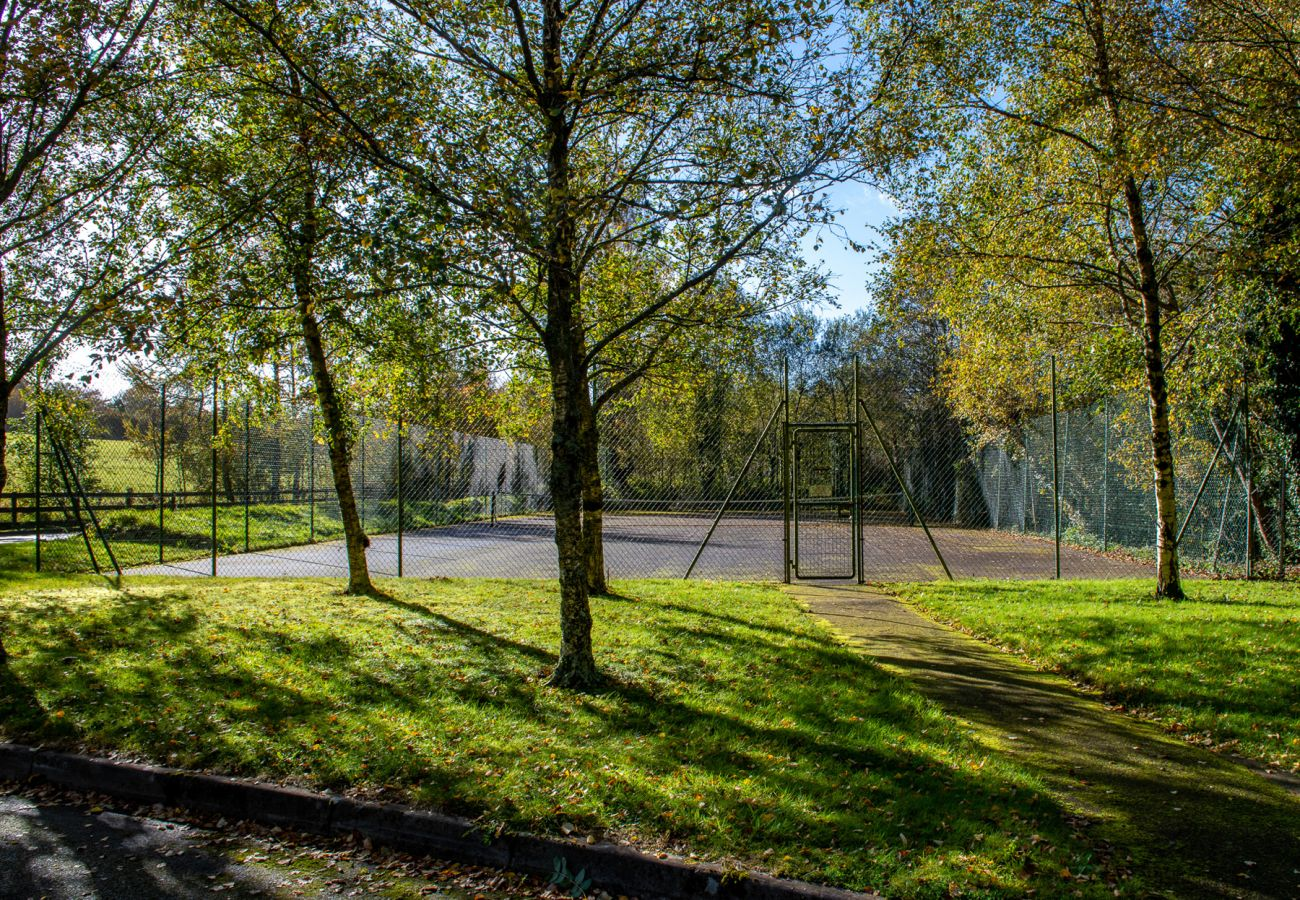 Tennis Courts at Aughrim Holiday Village, County Wicklow, Ireland
