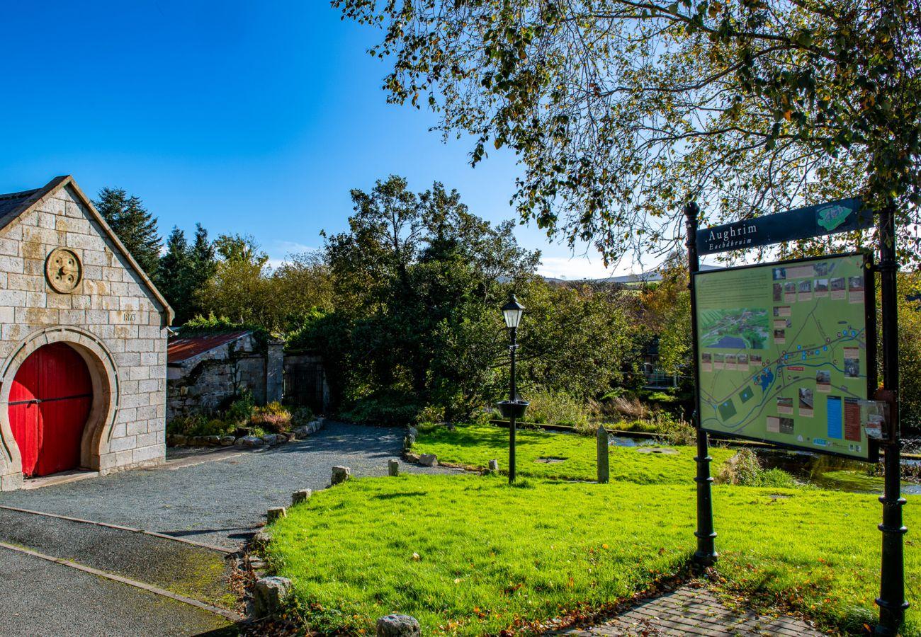 Aughrim Village, Aughrim, County Wicklow, Ireland