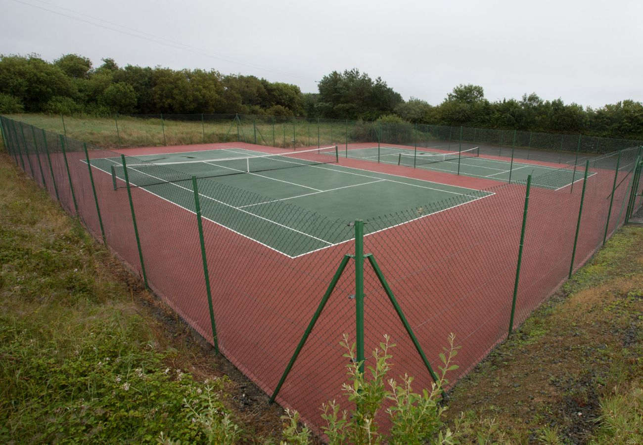Tennis Courts at Brittas Bay Holiday Village, County Wicklow, Ireland
