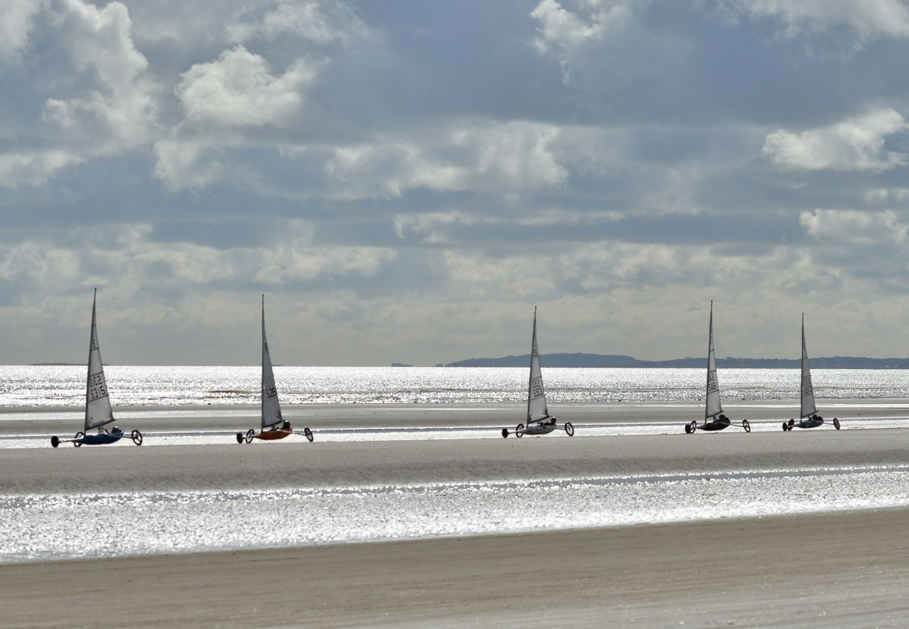 Sand Yachting Bettystown Laytown in County Meath © Carels Photography