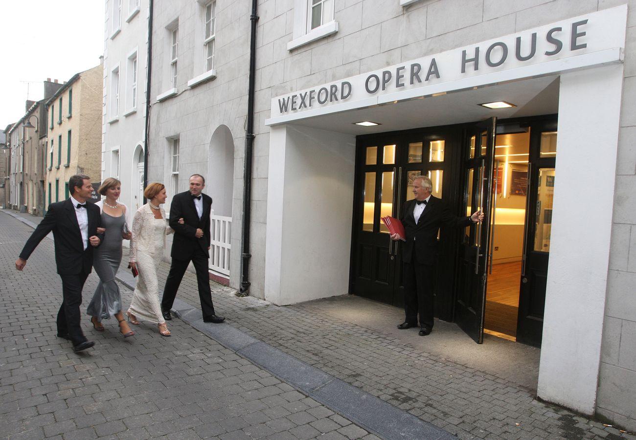 Exterior of Wexford Opera House Wexford Town Ireland image Fáilte Ireland