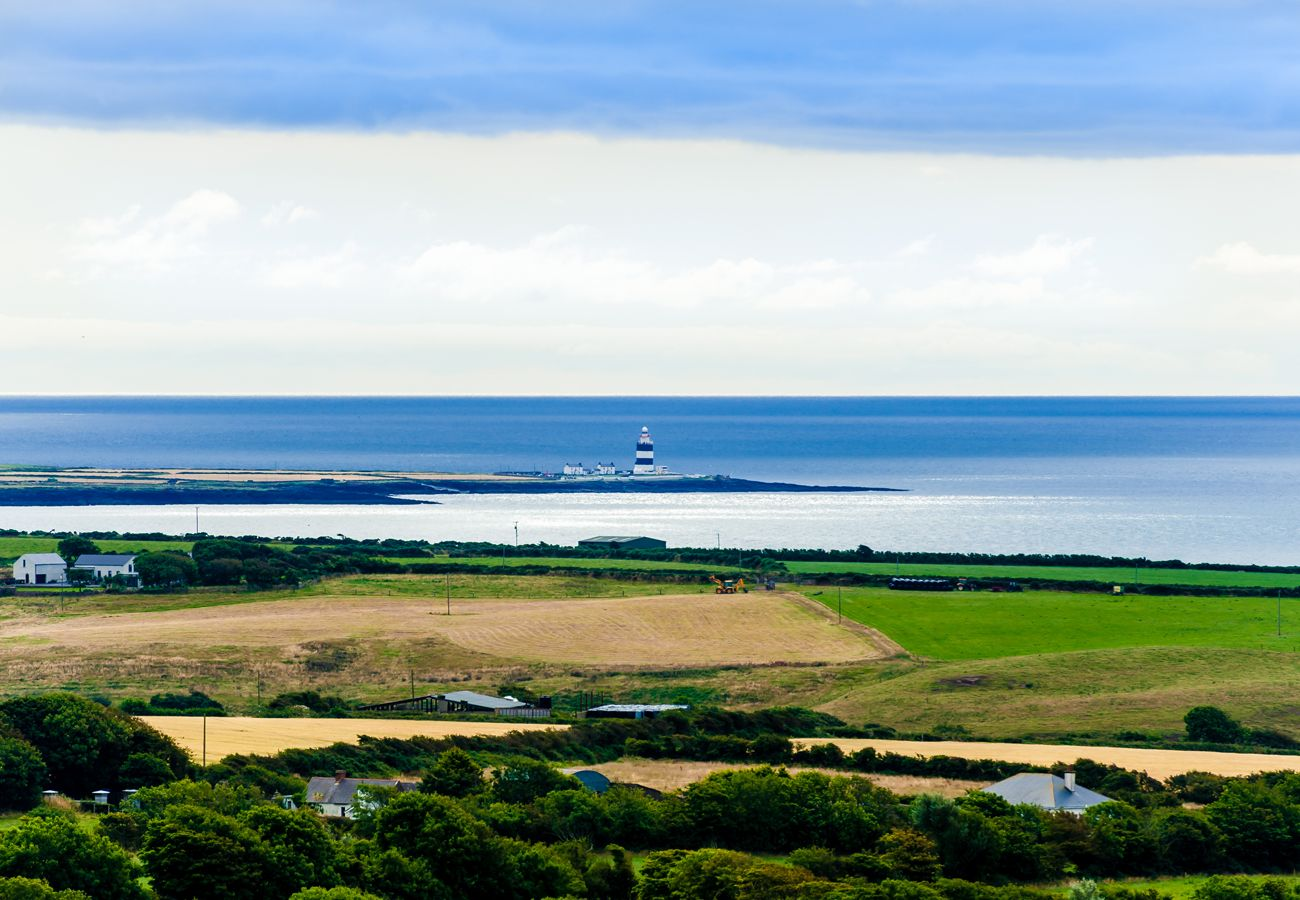 Aerial View of Hook Lighthouse County Wexford image Fáilte Ireland