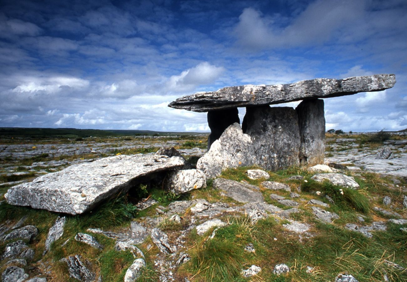 Poulnabrone Dolmen The Burren County Clare Irelaand | Trident Holiday Homes