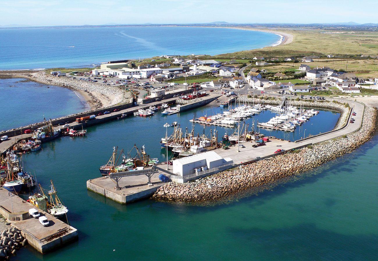 Kilmore Quay Aerial View Wexford Ireland