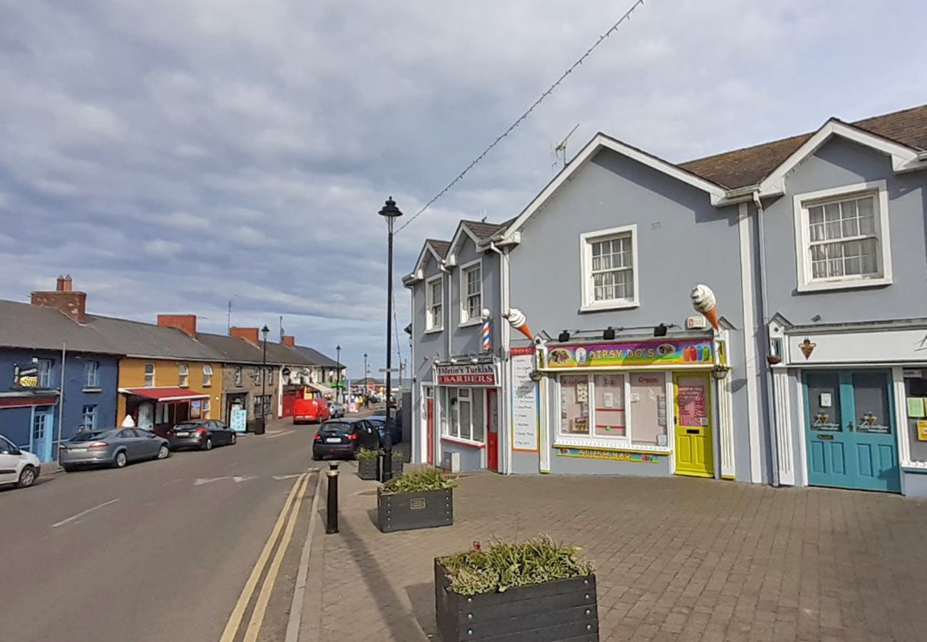 Seaside Town of Courtown in County Wexford