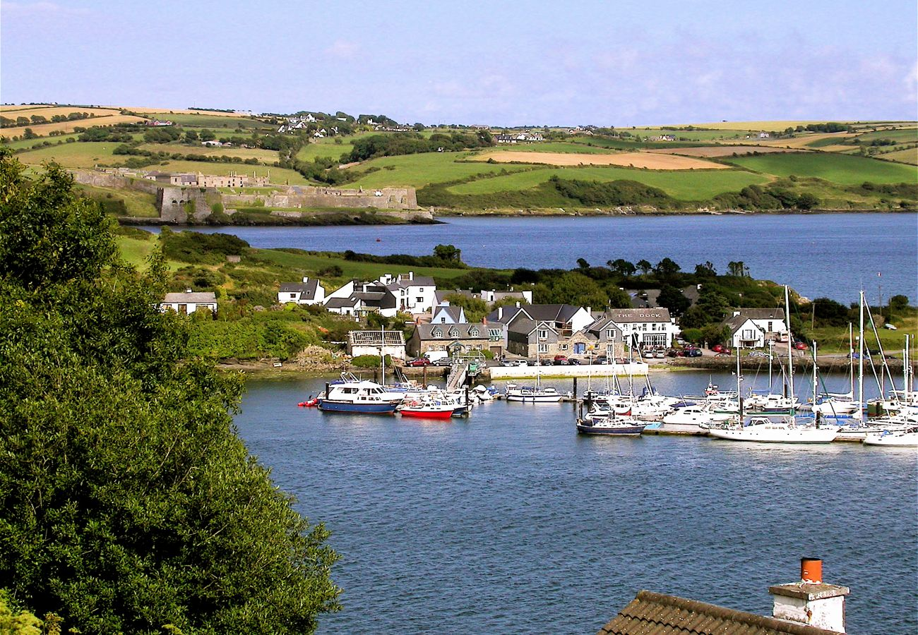 Historic Town of Kinsale Boats & Coastline, County Cork, Ireland
