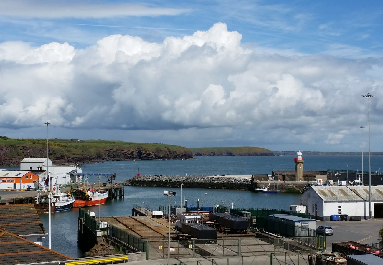 Dunmore East Harbour in Dunmore East County Waterford Ireland