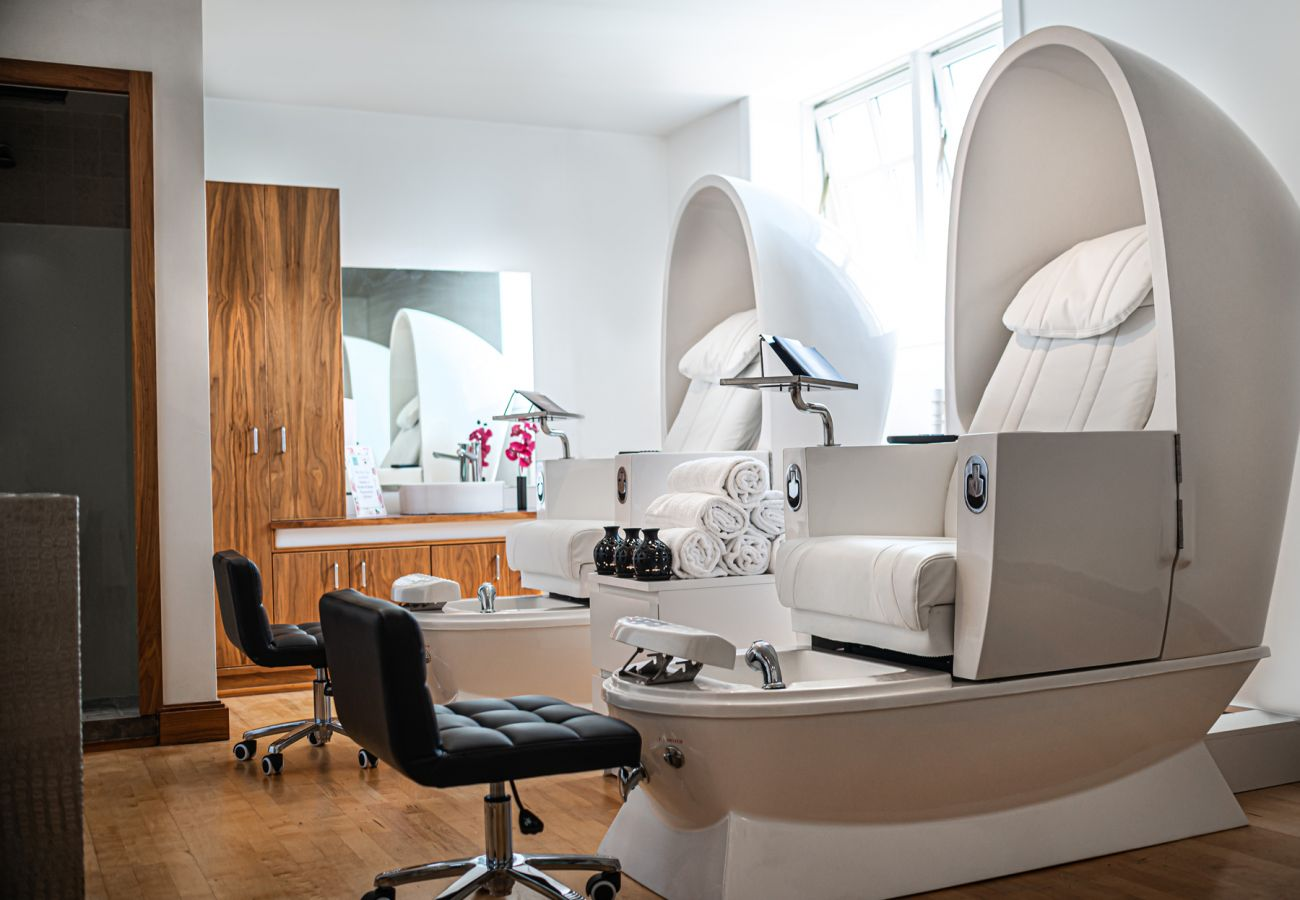 Pedicure Room at Knightsbrook Hotel, Trim, County Meath