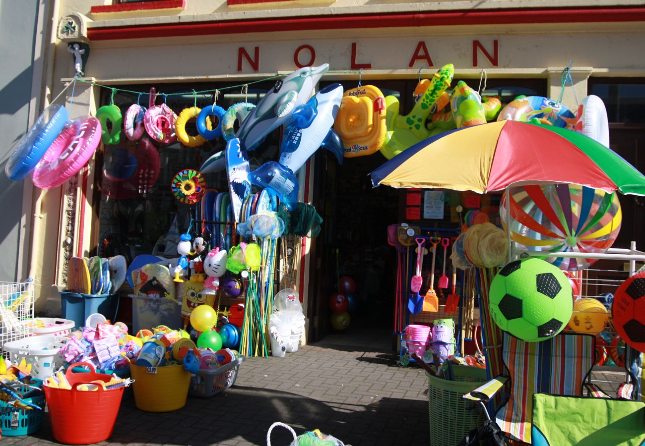 Local Shops in Kilkee, County Clare, Ireland
