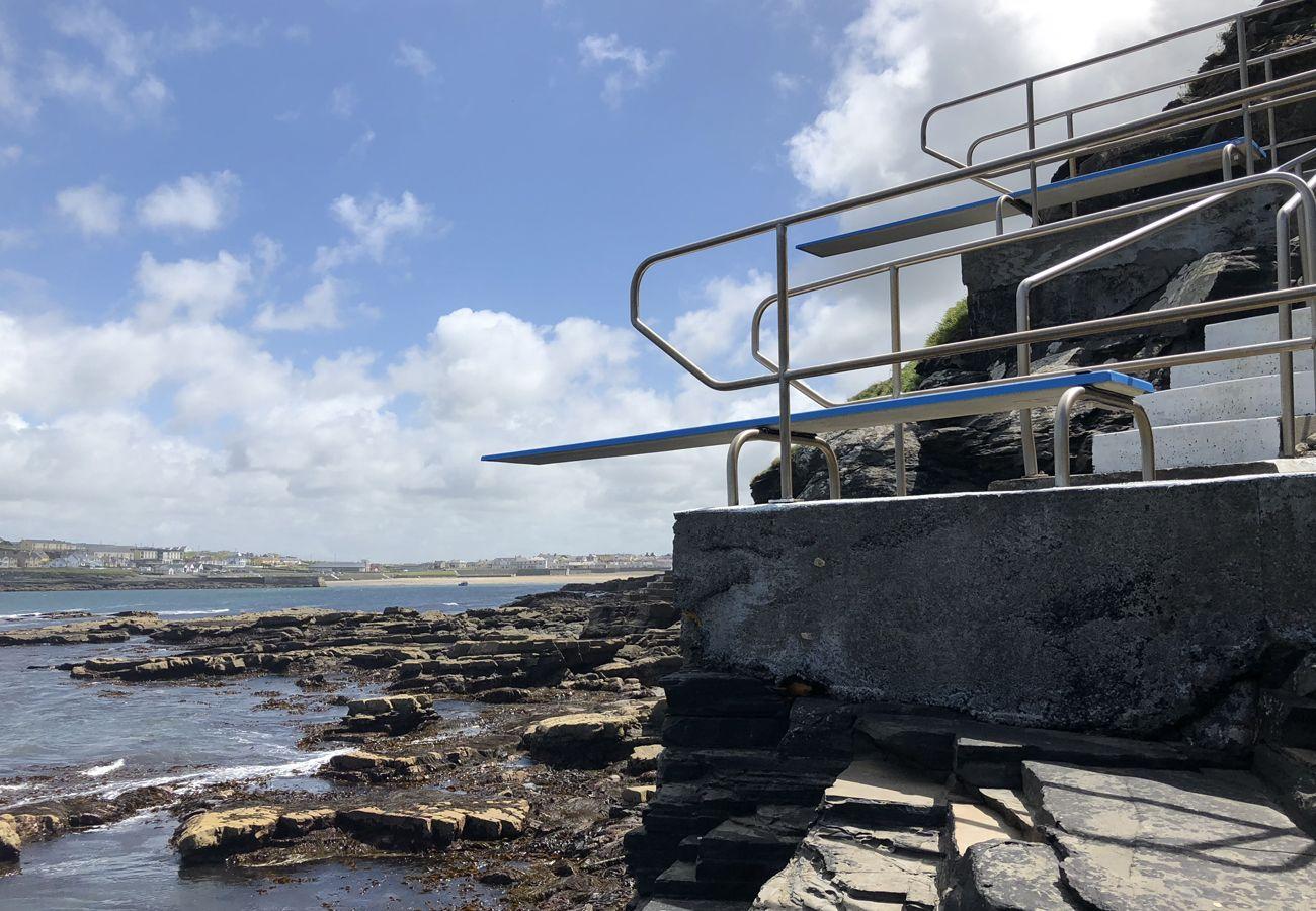 Kilkee Strand, Kilkee, County Clare, Ireland