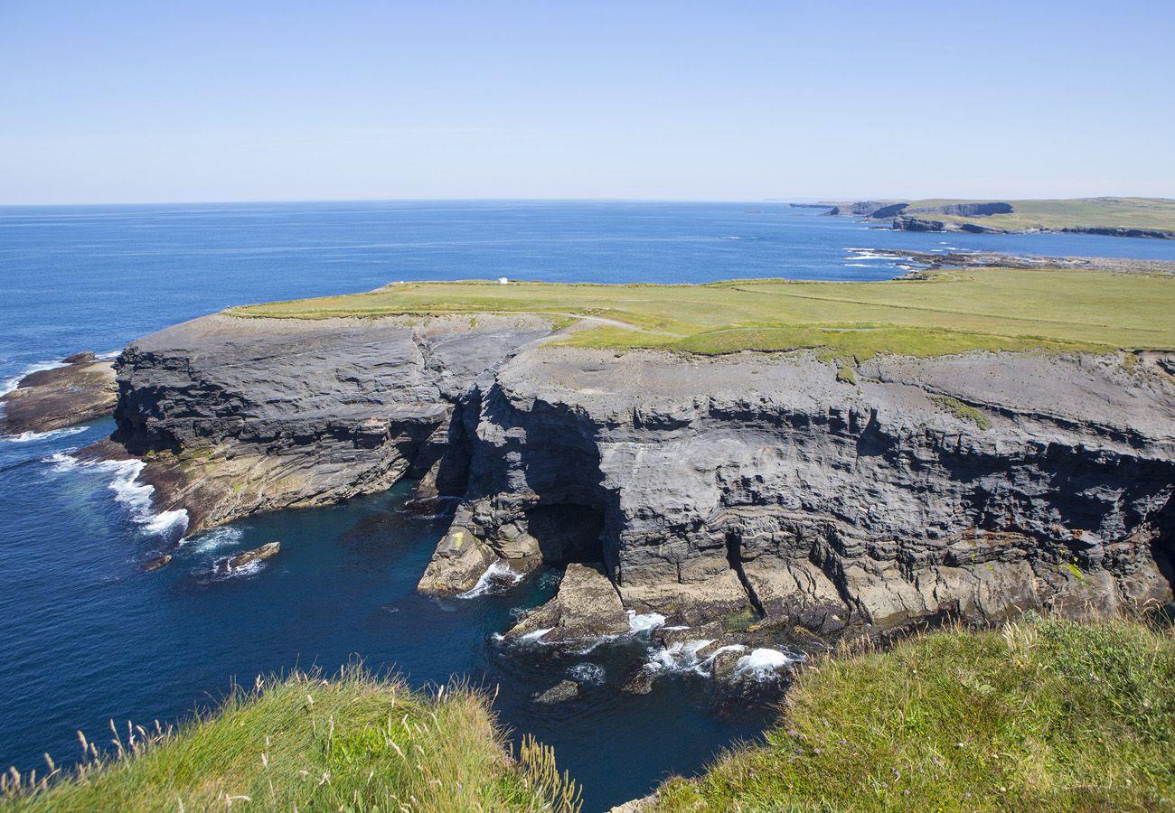 Kilkee Cliff Walk in Kilkee, County Clare, Ireland