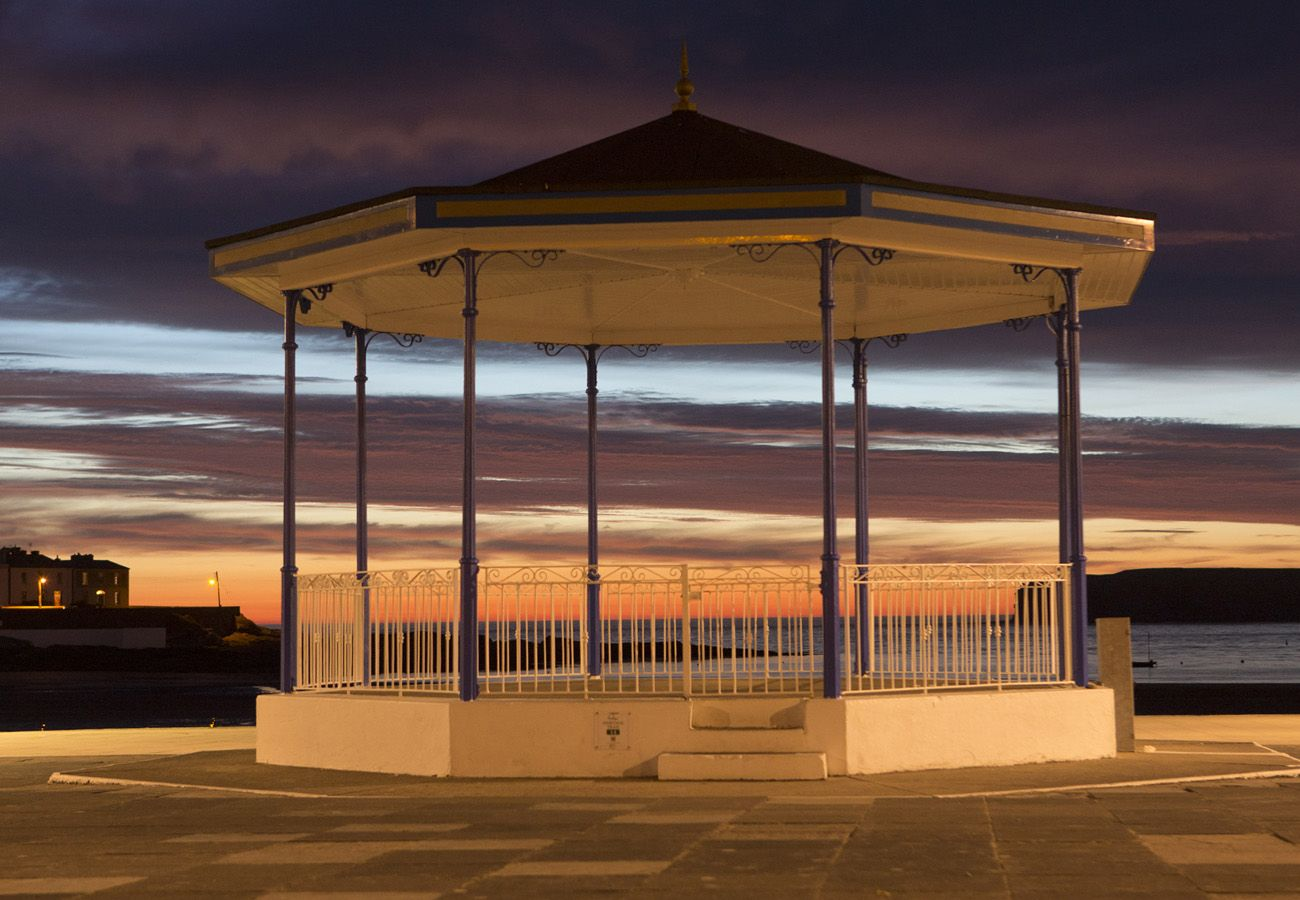 Band Stand, Kilkee Town, County Clare, Ireland