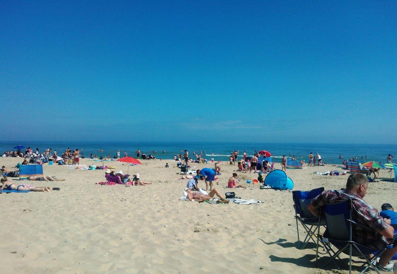 Blue Flag Beach, Brittas Bay, County Wicklow