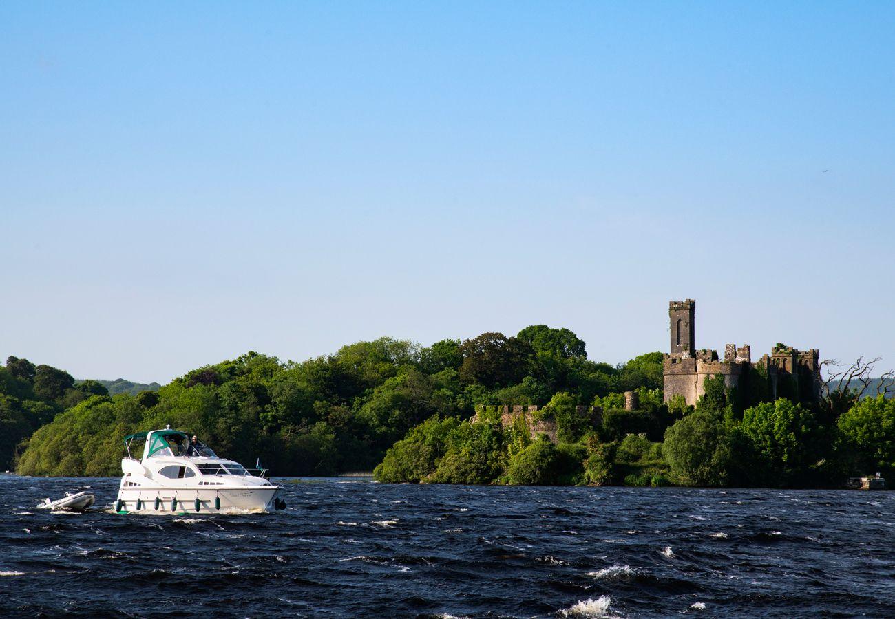 Castle Island Lough Key County Roscommon image Fáilte Ireland and Tourisim Ireland