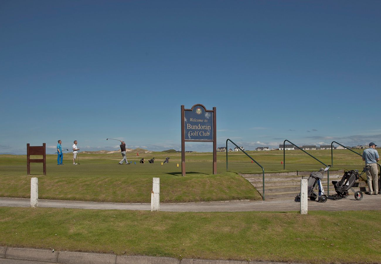 Bundoran Golf Club Holiday Destination Donegal Ireland