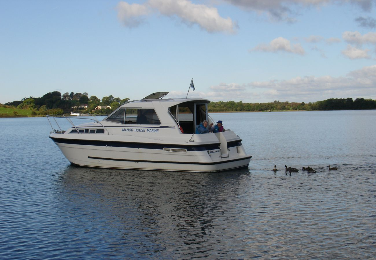 Hire a boat on Lough Erne in County Fermanagh Manor Marine Noble Cadet 2/4 Berth