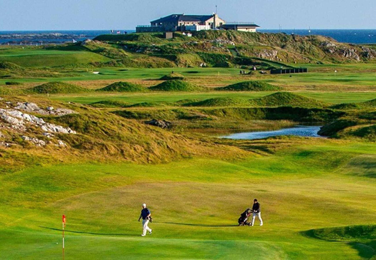 Connemara Championship Golf Links, Connemara, County Galway, Ireland