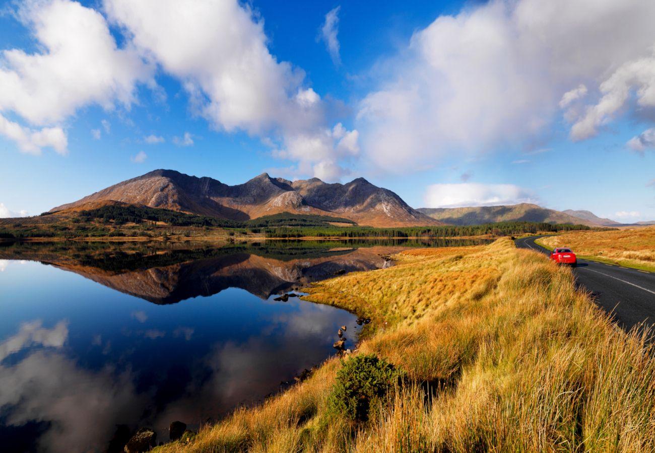 Stunning Connemara Landscape County Galway Ireland