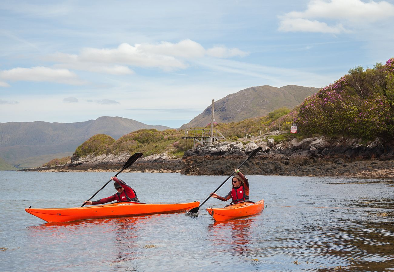 Kayaking Bay Coast, Killery Harbour, County Galway copyright Fáilte Ireland & Tourism Ireland