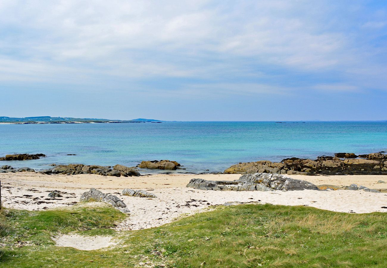 Pretty Beach in Connemara County Galway
