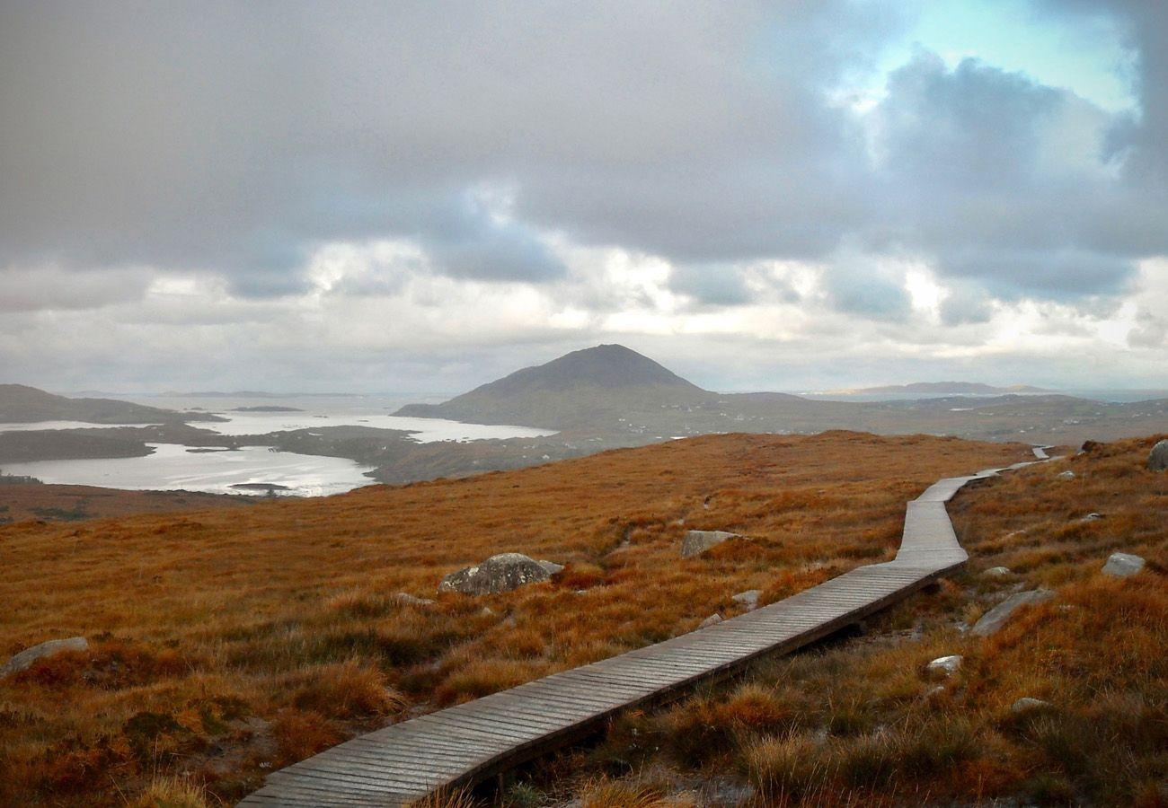 Diamond Hill Walk Connemara County Galway
