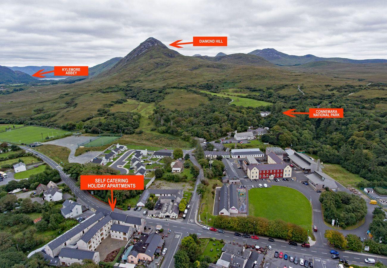 Pretty Village of Letterfrack Connemara County Galway
