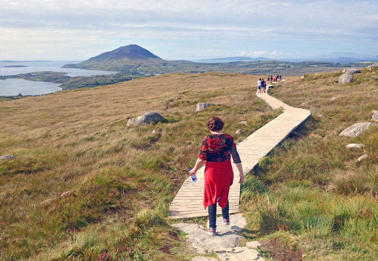 Diamond Hill Walk Connemara County Galway