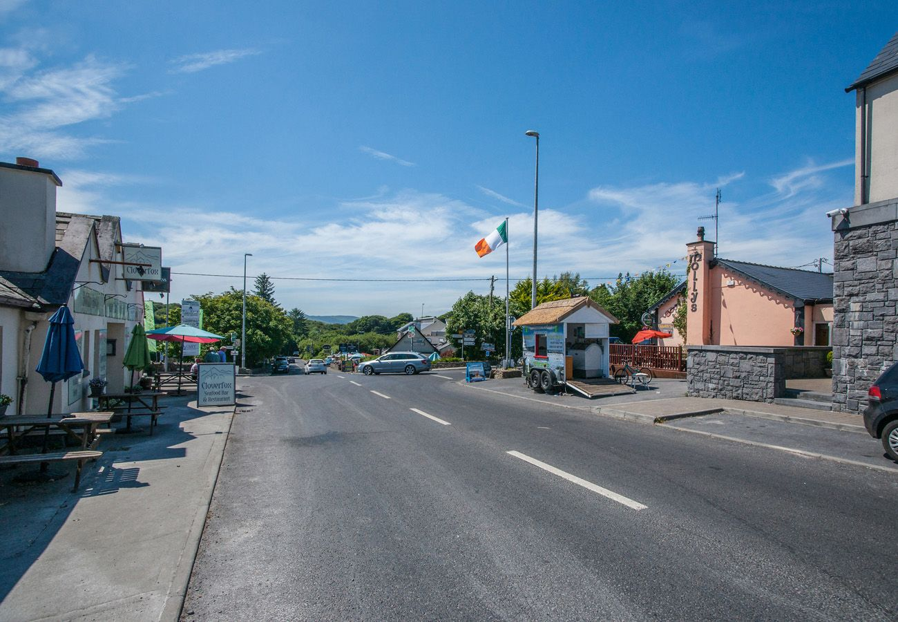Pretty Village of Letterfrack Connemara County Galway