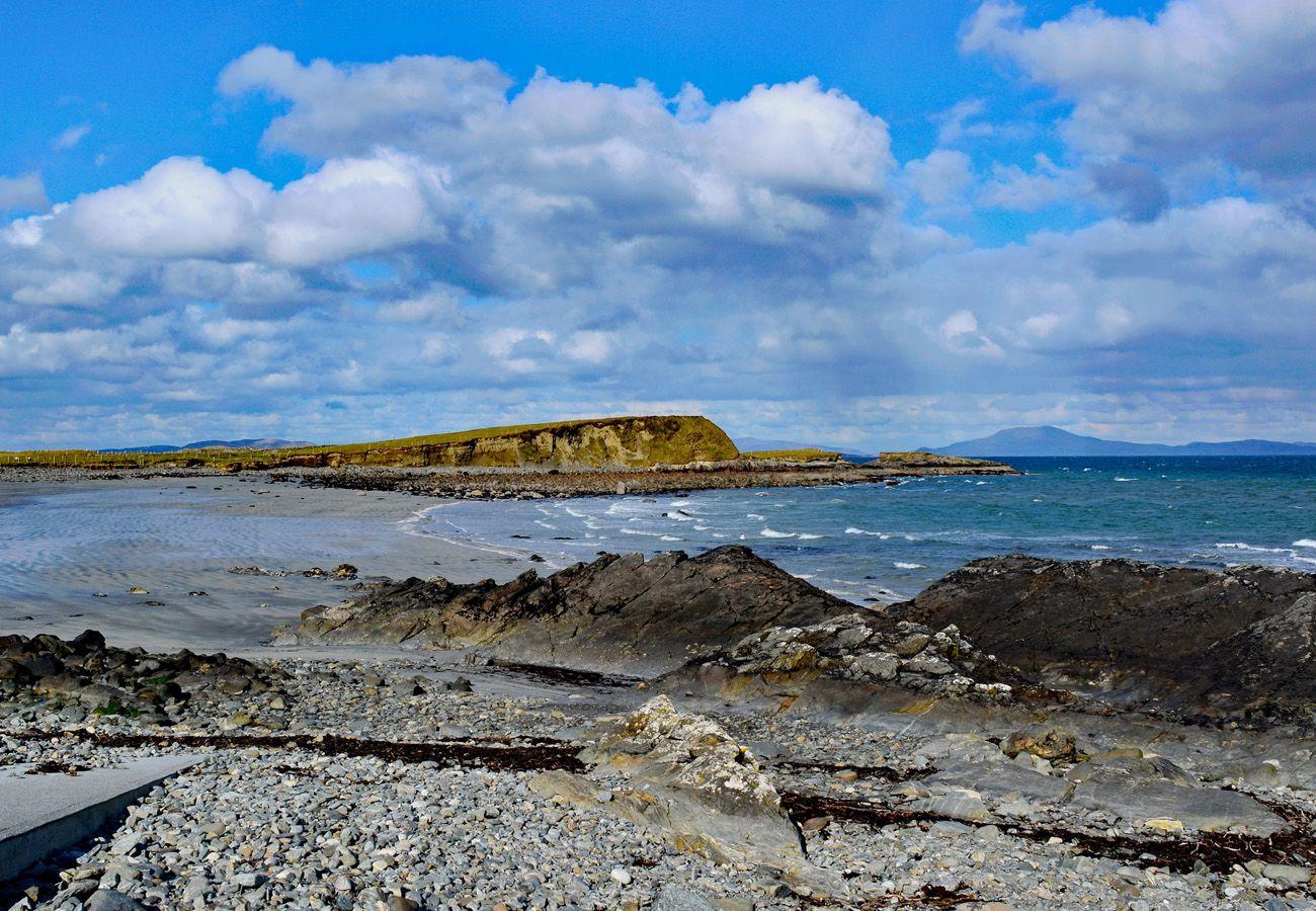 Beautiful Connemara Landscape County Galway
