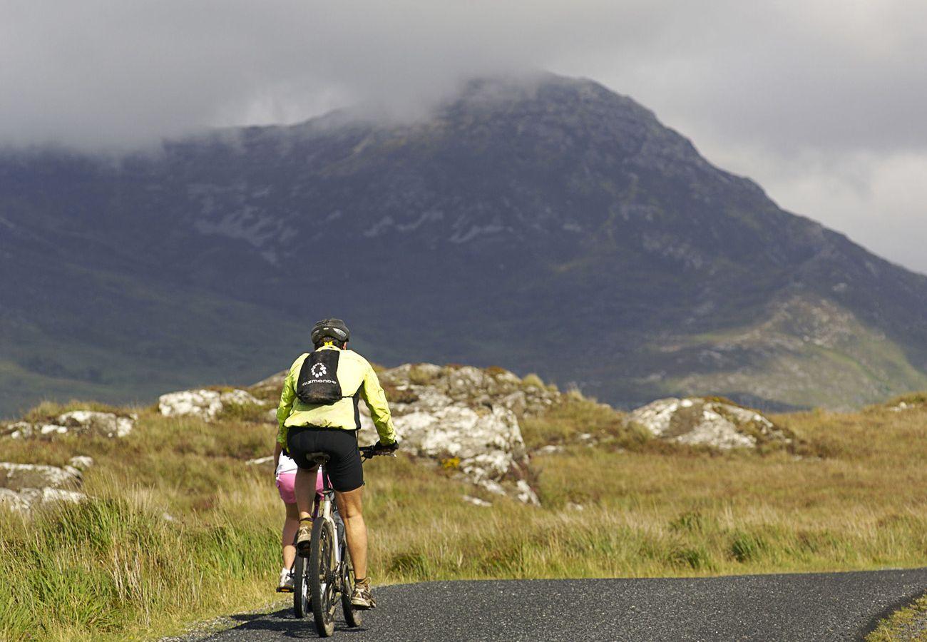 Cycling in Connemara, County Galway, Ireland